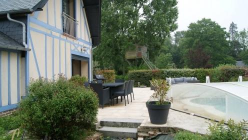 Maison De Campagne Avec Piscine Pays De Caux En Normandie