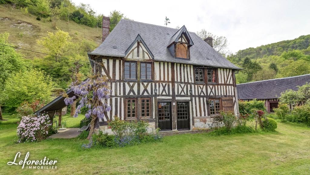 Belle Maison Normande Du 17eme En Bord De Seine Prox Rouen
